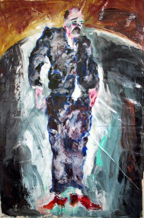 """Calvi #2"" 2011, Oil / Canvas, 80in.X 60in."