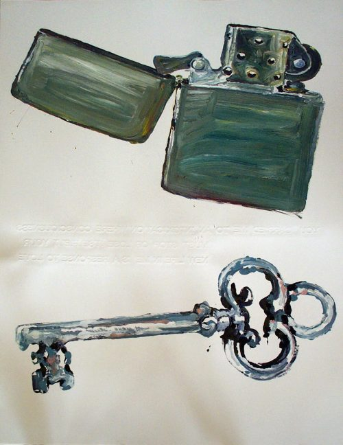 """Series: Song of Songs; ch. 2 vs. 4 2006. Oil on 2 Ply Paper. 60""""X 40"""""""